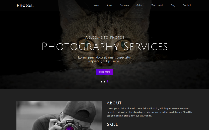15 Premium HTML Templates - photos