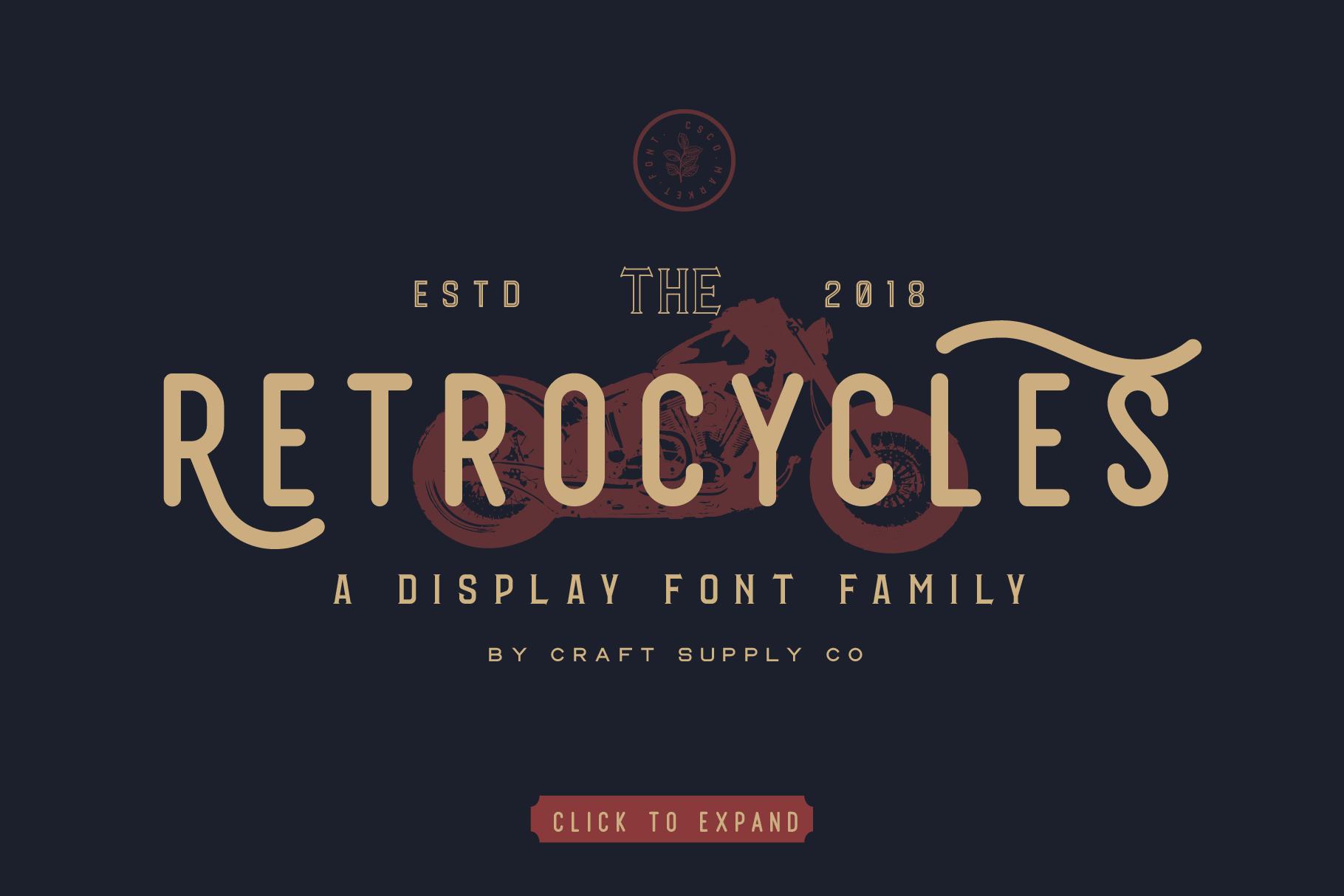 Vintage Font Bundle: 26 fonts + 100 extras - just $19 - 002 min 1