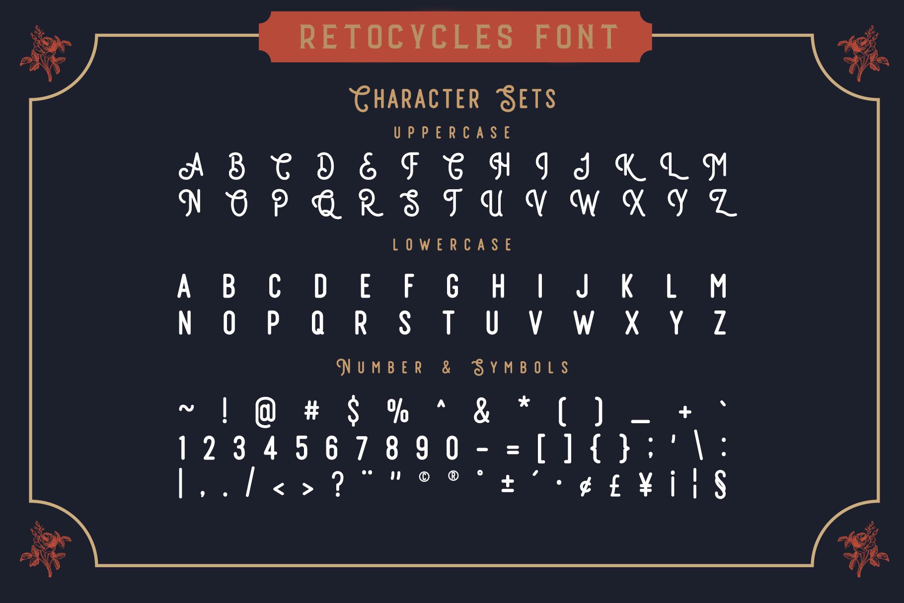 Vintage Font Bundle: 26 fonts + 100 extras - just $19 - 003 min 1