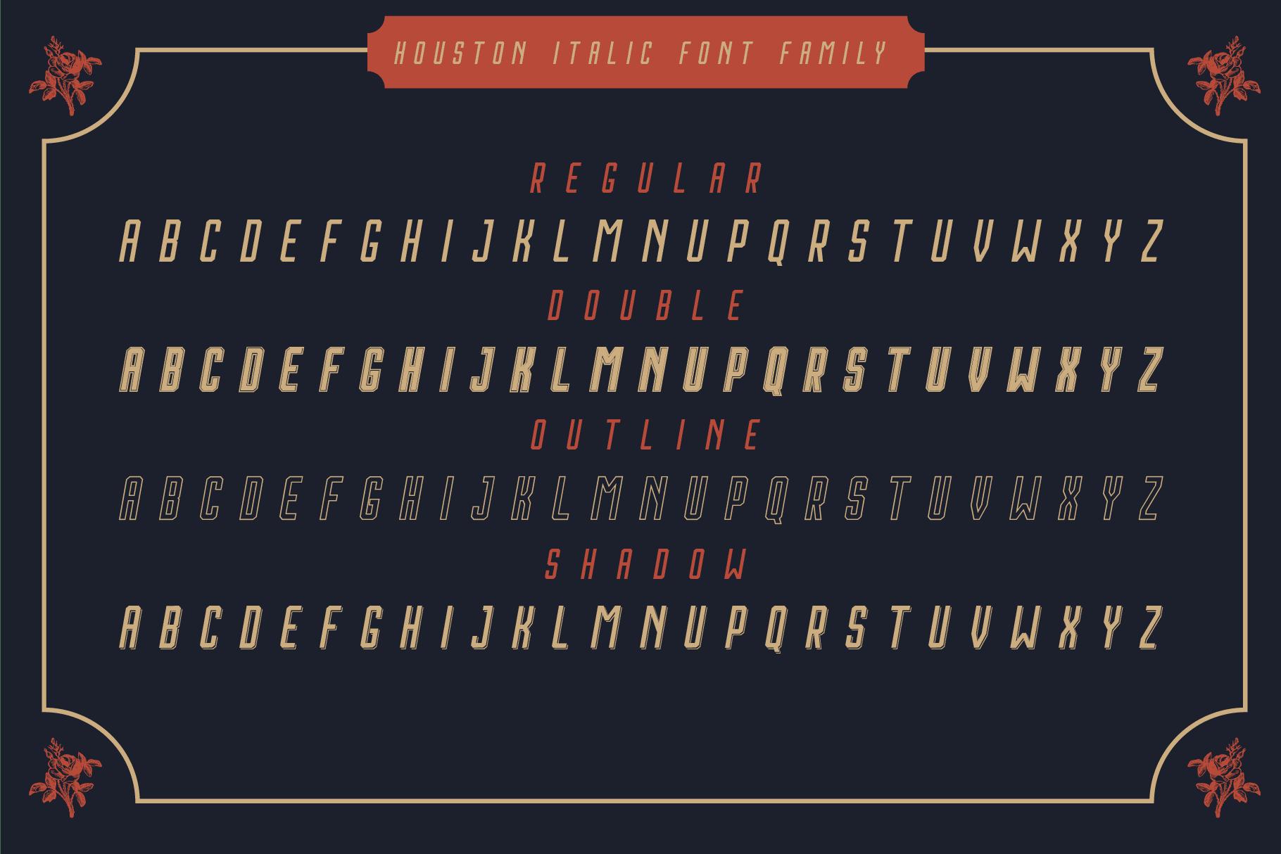 Vintage Font Bundle: 26 fonts + 100 extras - just $19 - 015 min 1