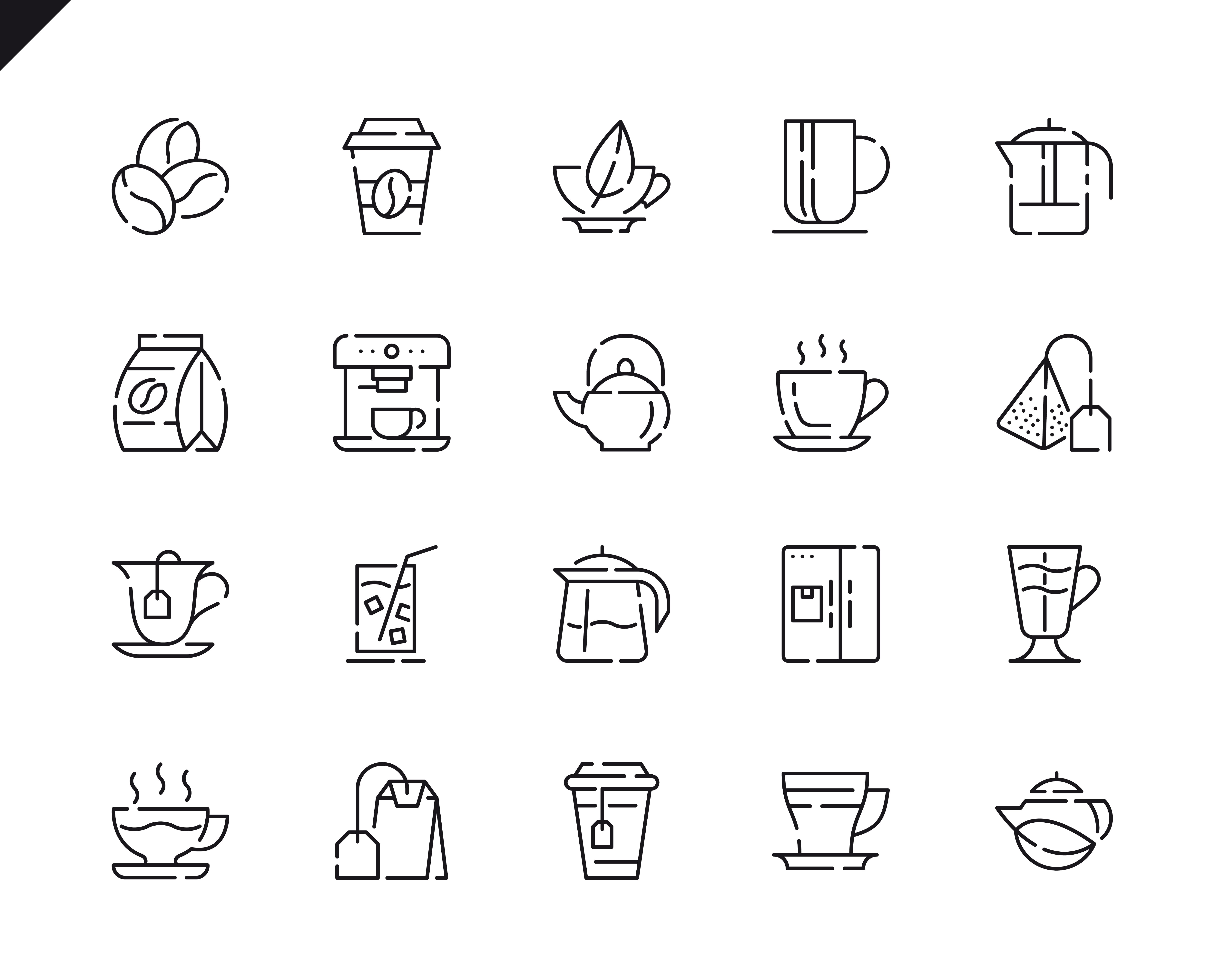 500 Business Line Icons - $22 ONLY - 11 4