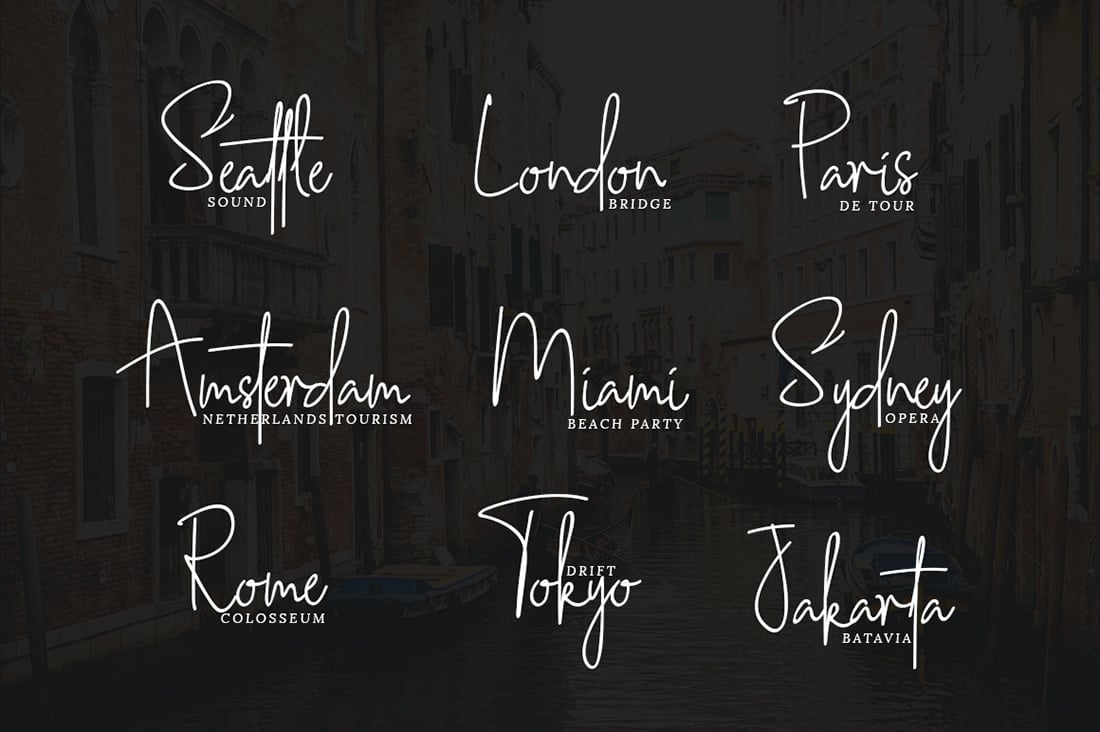 Hand Lettered Fonts - 16 Stunning Fonts - OTF, TTF, WOFF. Just $29! - 11 Southampton Dark Preview 2