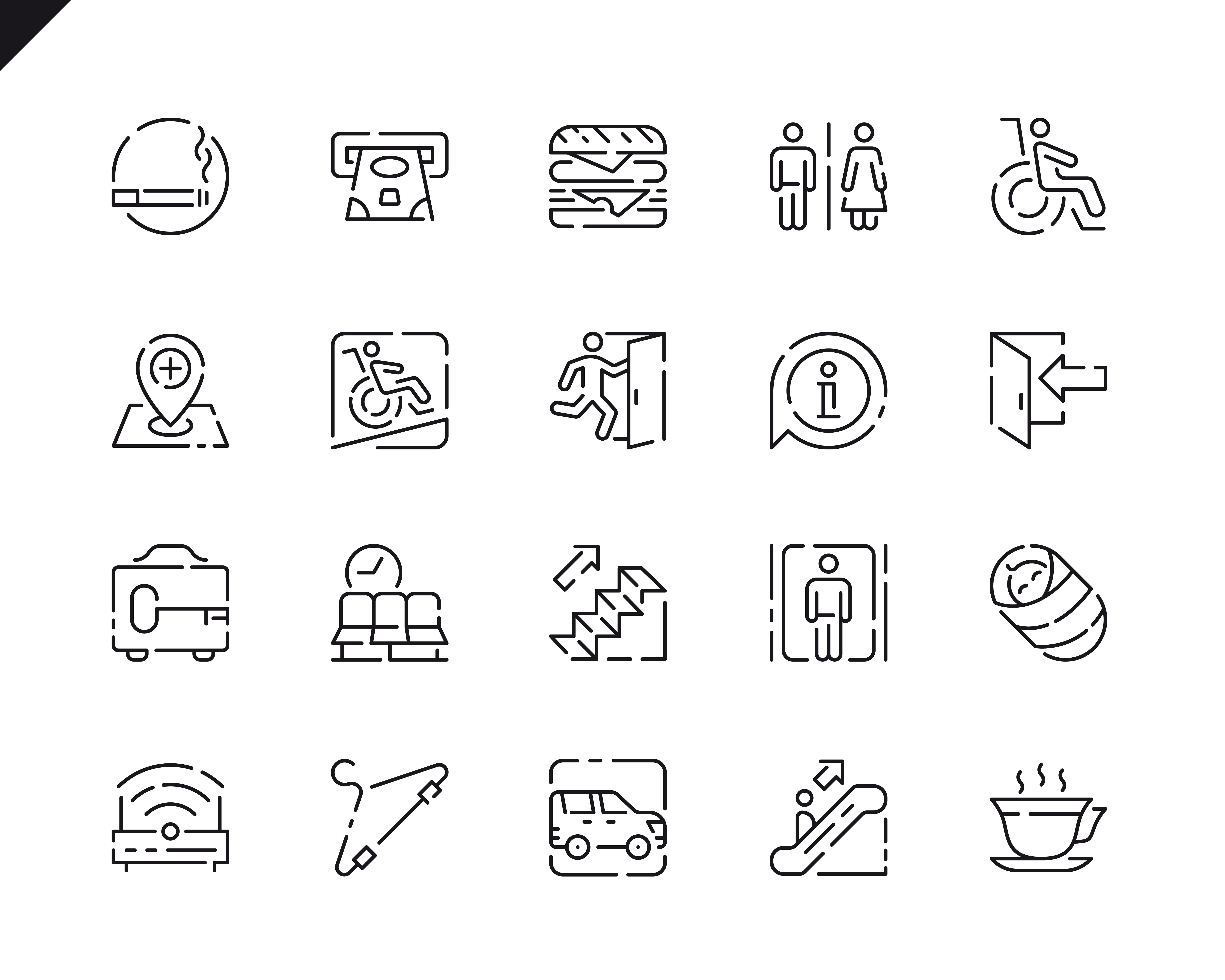 500 Business Line Icons - $22 ONLY - 14 4