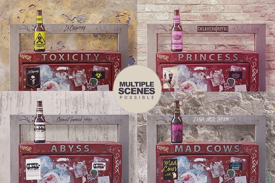 Vintage Bundle: 42 Mock-ups and 60 Textures