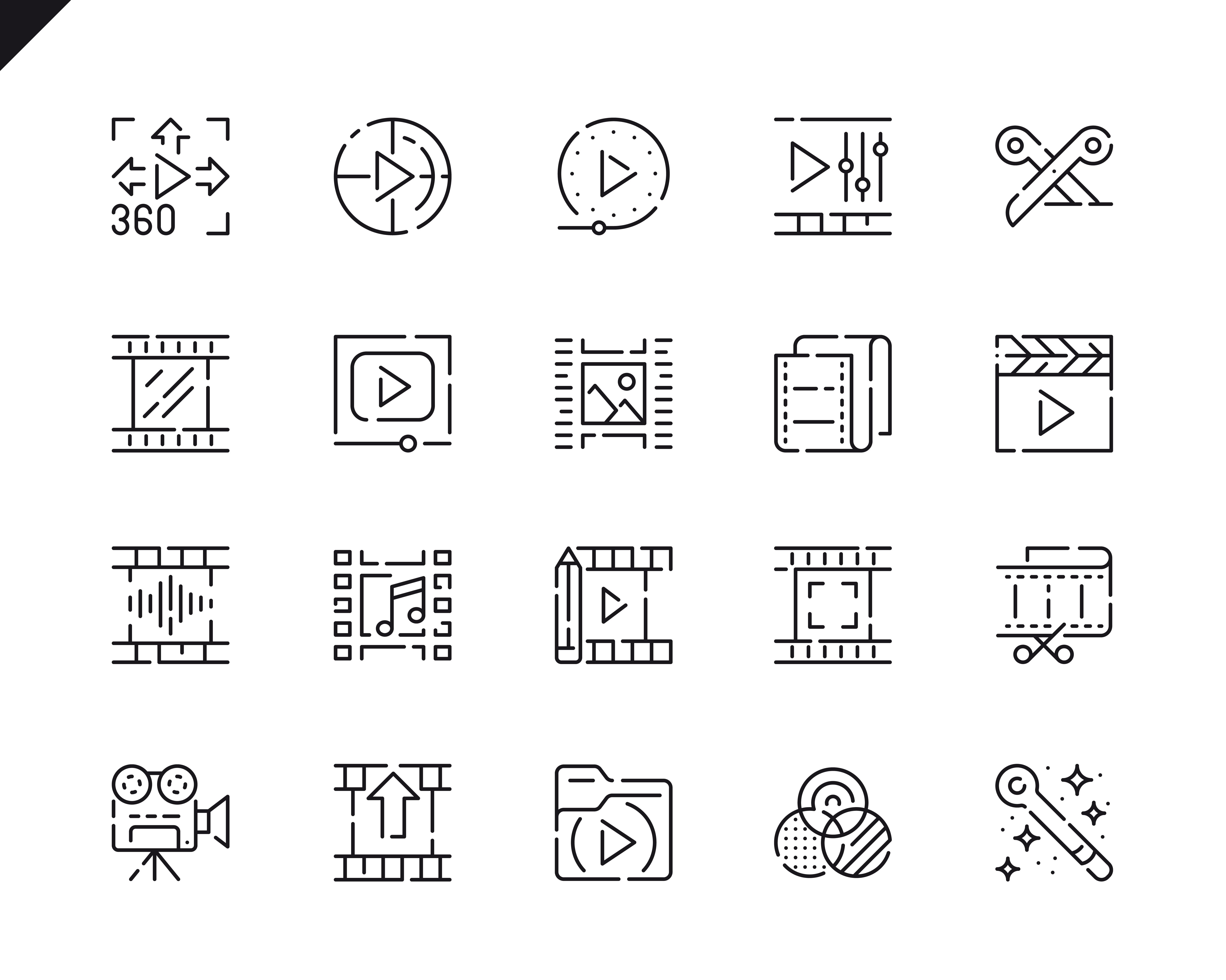 500 Business Line Icons - $22 ONLY - 15 3