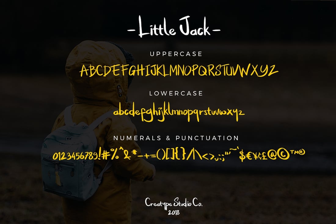 Hand Lettered Fonts - 16 Stunning Fonts - OTF, TTF, WOFF. Just $29! - 16 Little Jack Preview 8