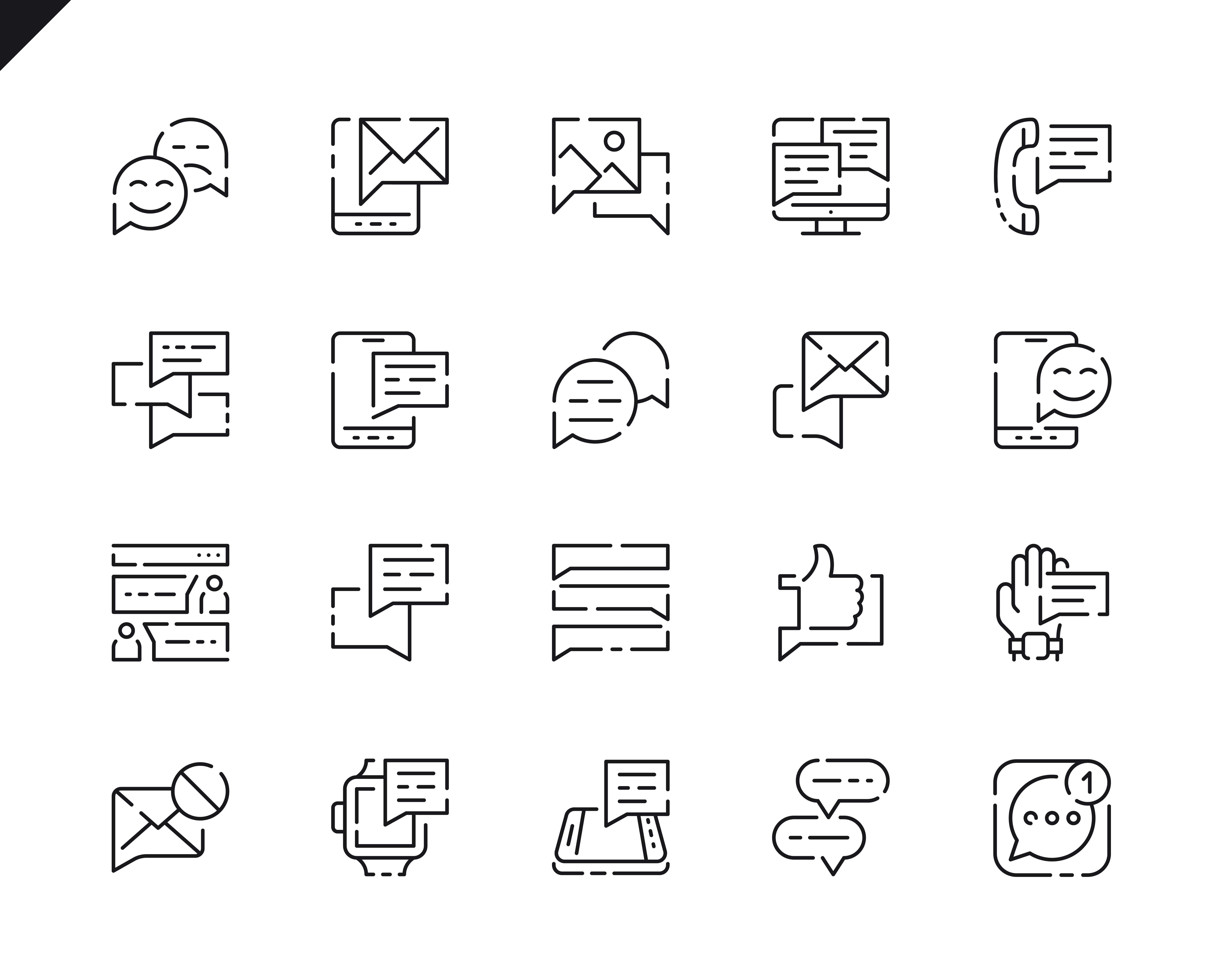 500 Business Line Icons - $22 ONLY - 17 3