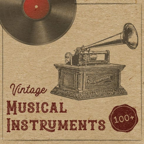100 Vintage Music Instruments - $9 ONLY! - 1785bf41 e053 4eaf 90b9 c1f297365128 490x490