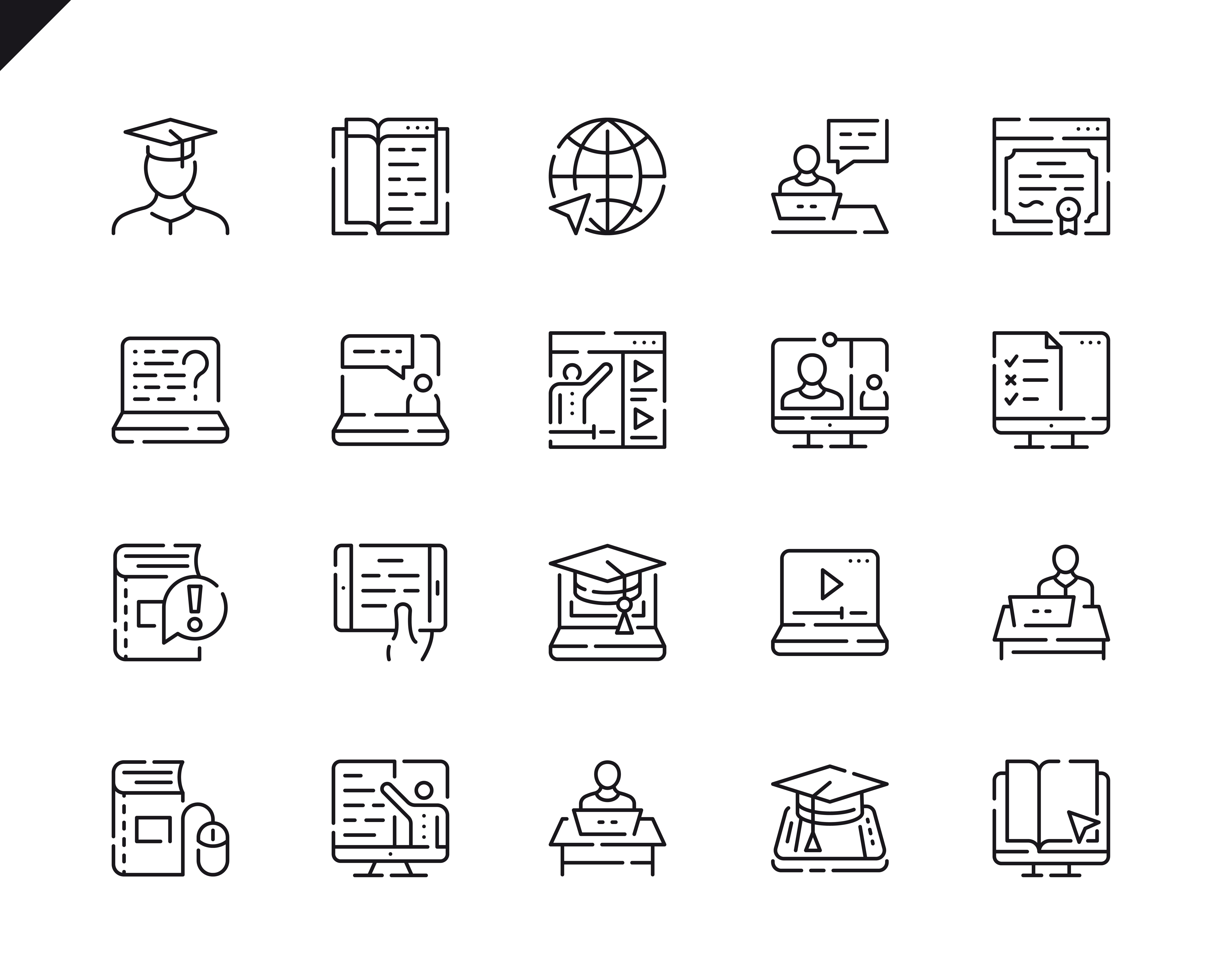 500 Business Line Icons - $22 ONLY - 18 3