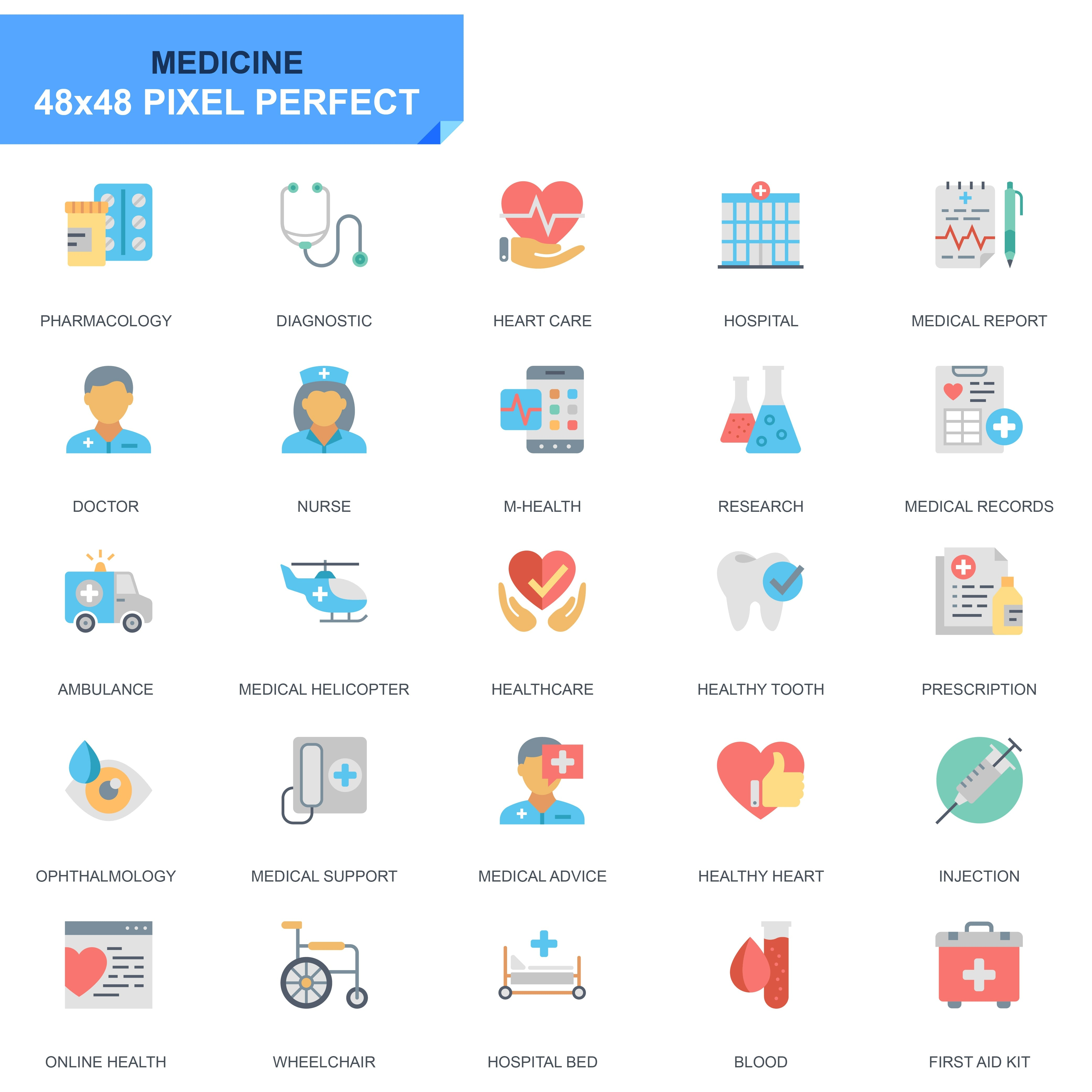 625 Flat Business Icons - just $24 - 20 2