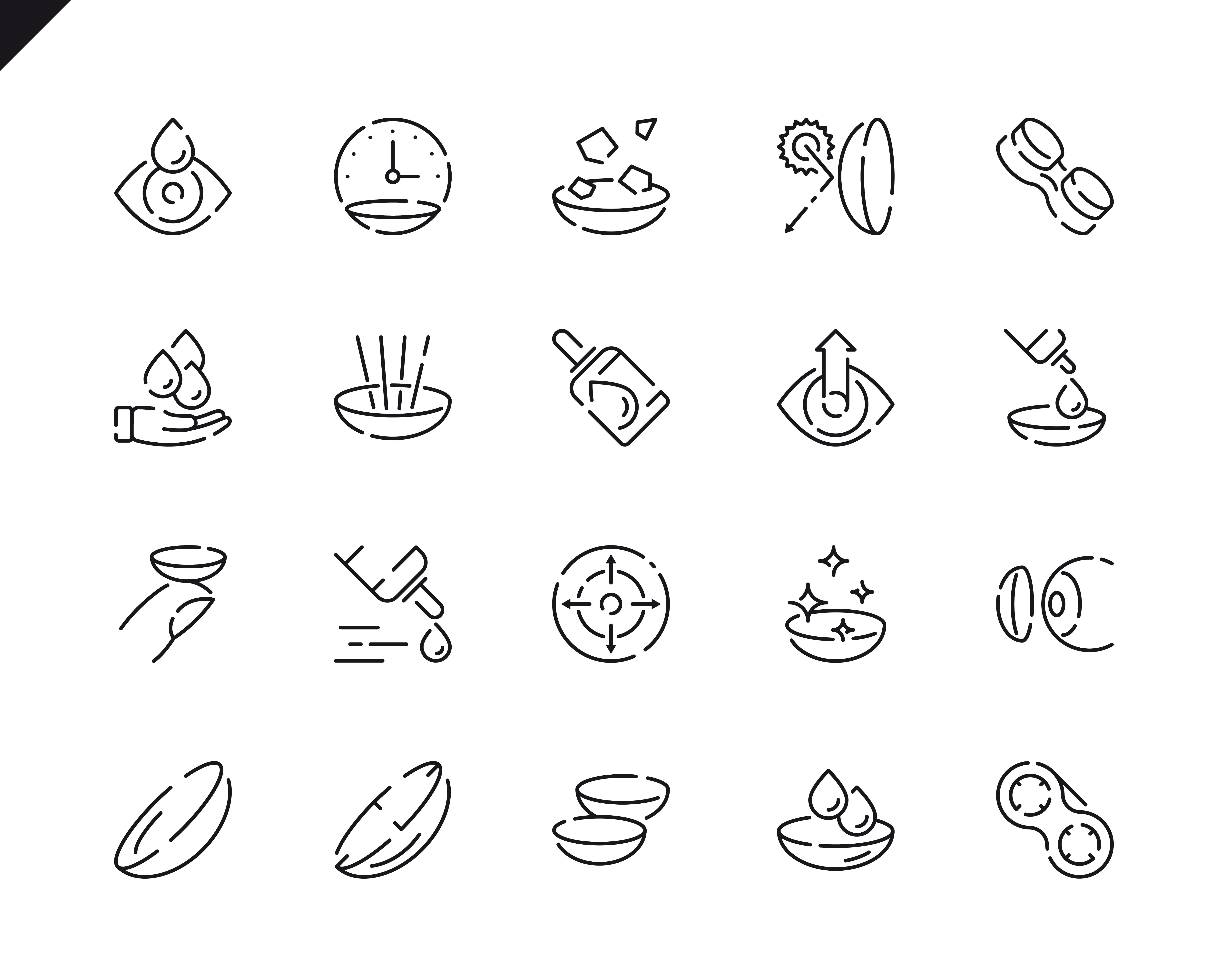 500 Business Line Icons - $22 ONLY - 20 3