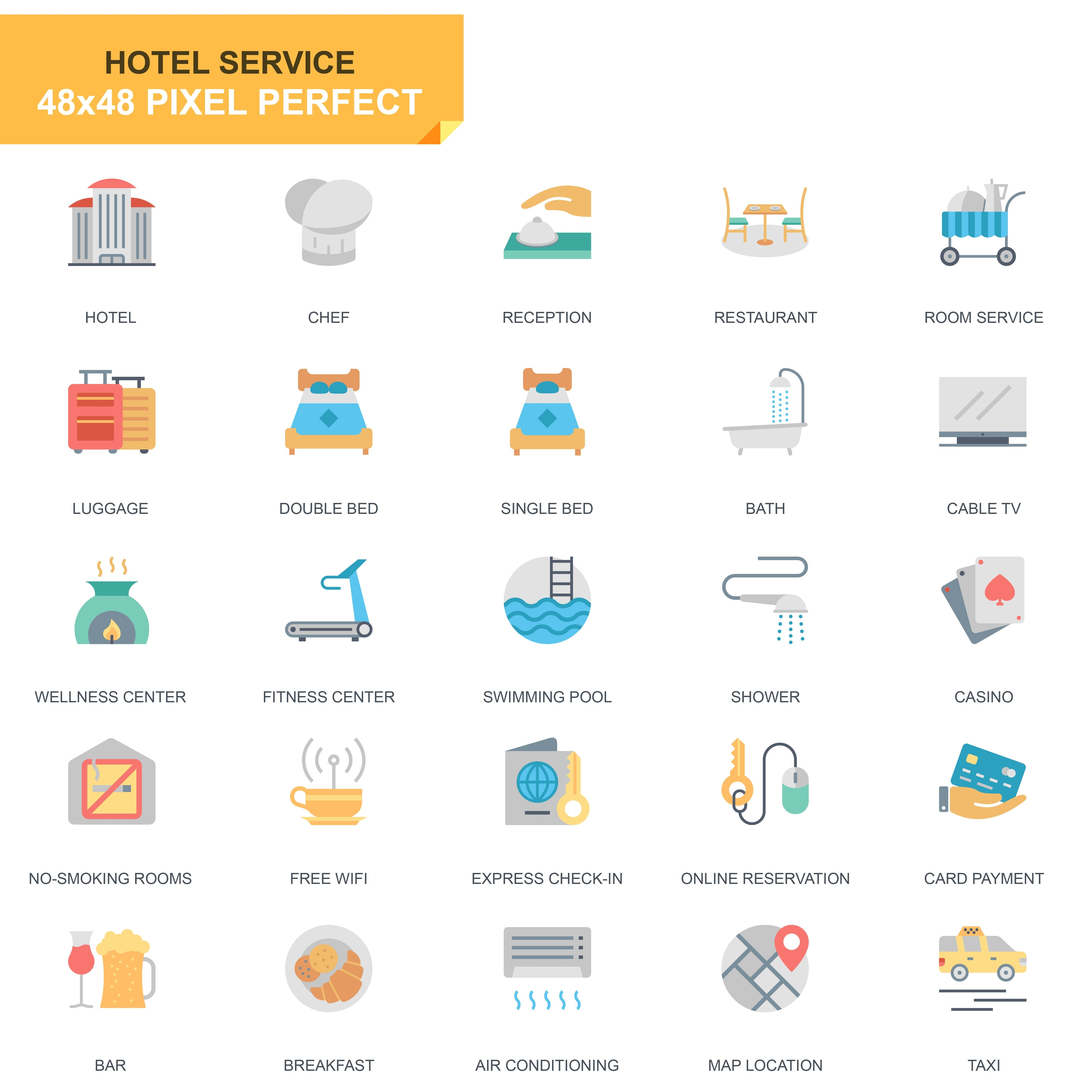 625 Flat Business Icons - just $24 - 22 1