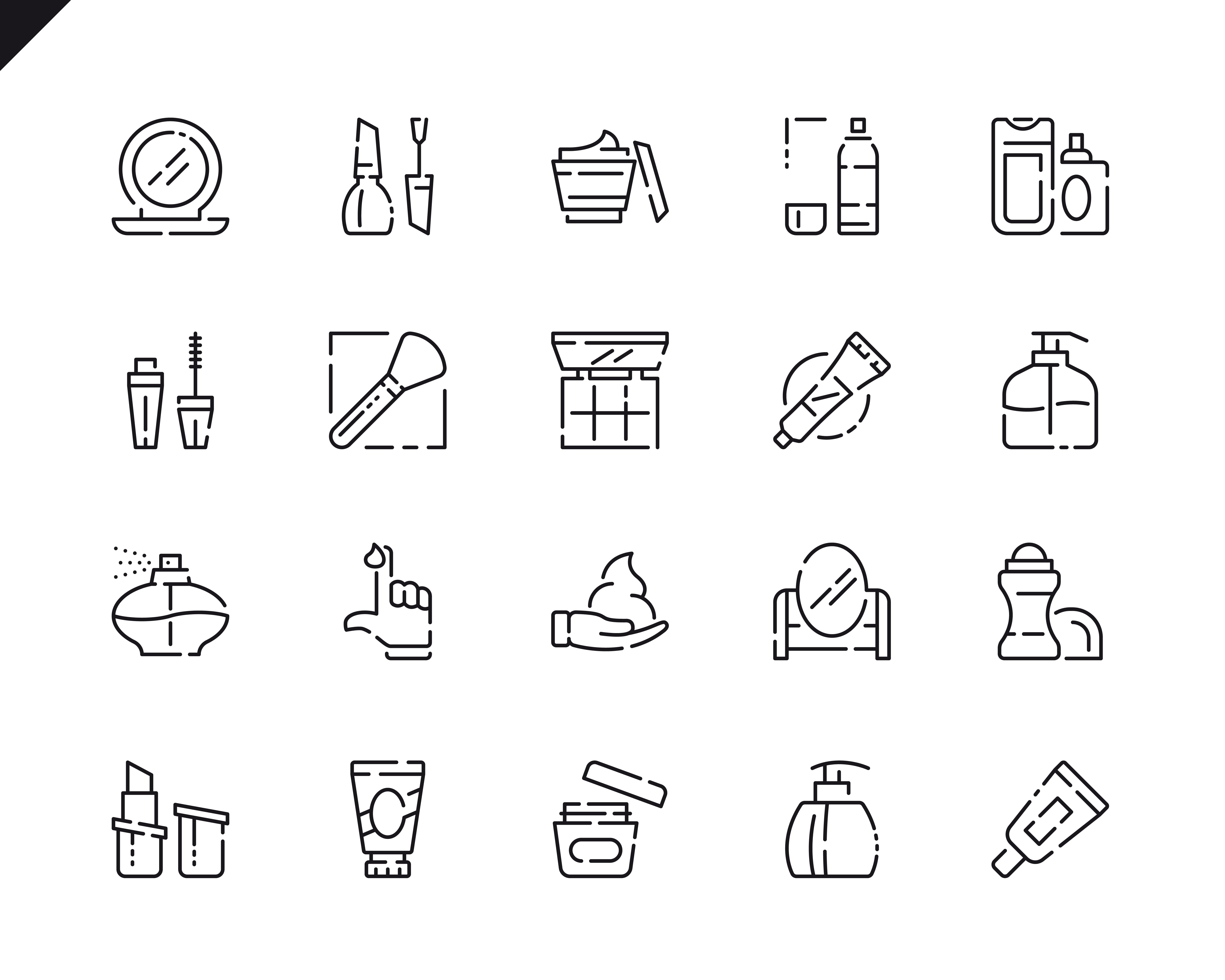 500 Business Line Icons - $22 ONLY - 5 5