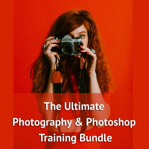 The Ultimate Photography & Photoshop Training Bundle - $49 ONLY - 600 490x490
