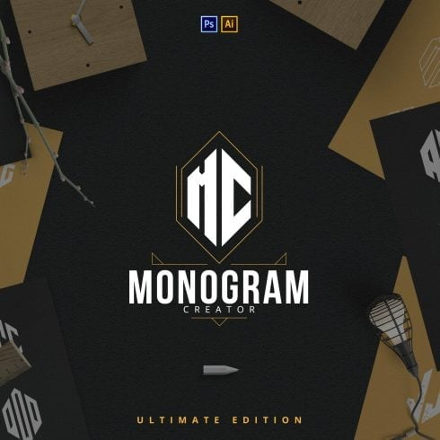 Ultimate Monogram Creator: 6-in-1