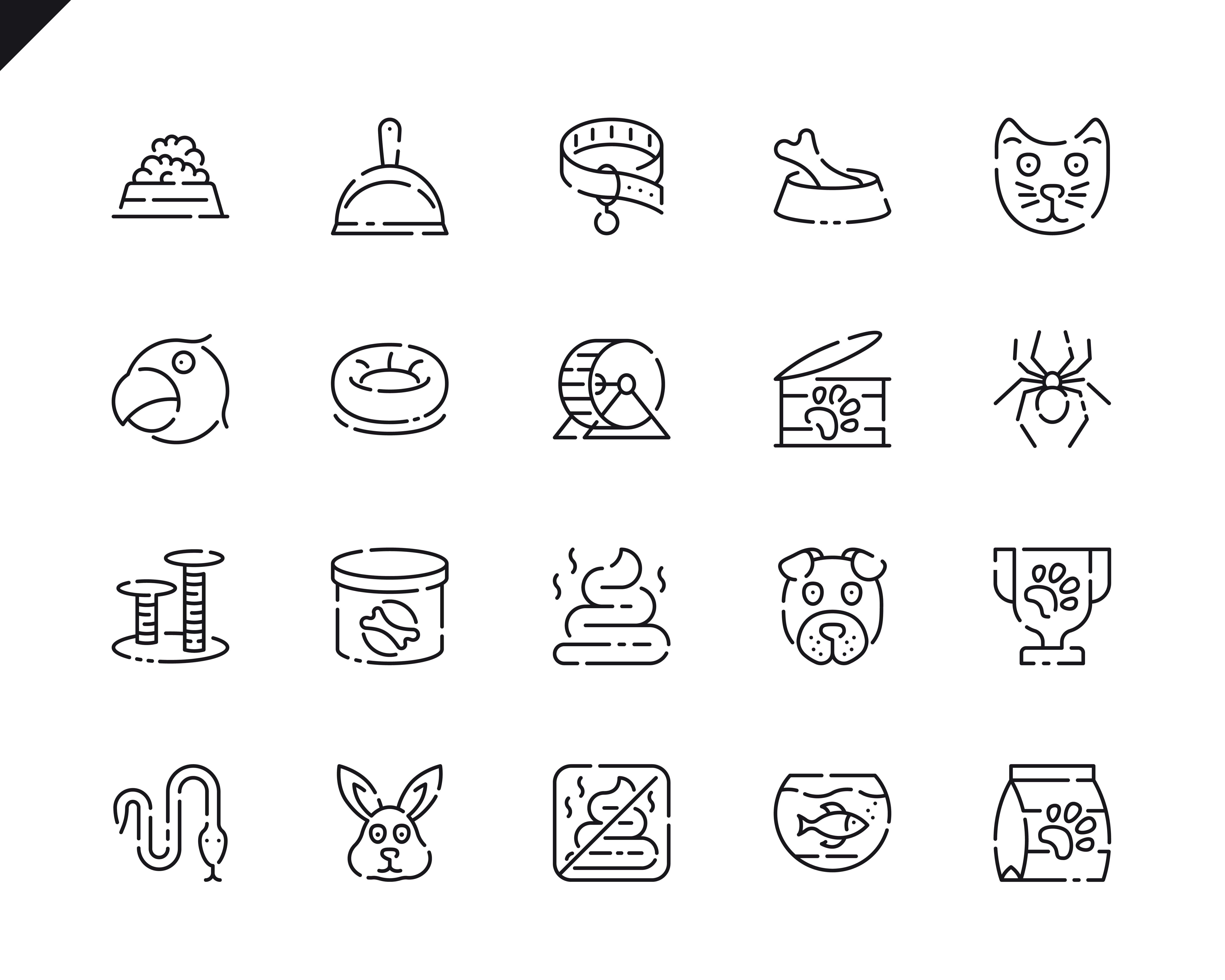 500 Business Line Icons - $22 ONLY - 7 4