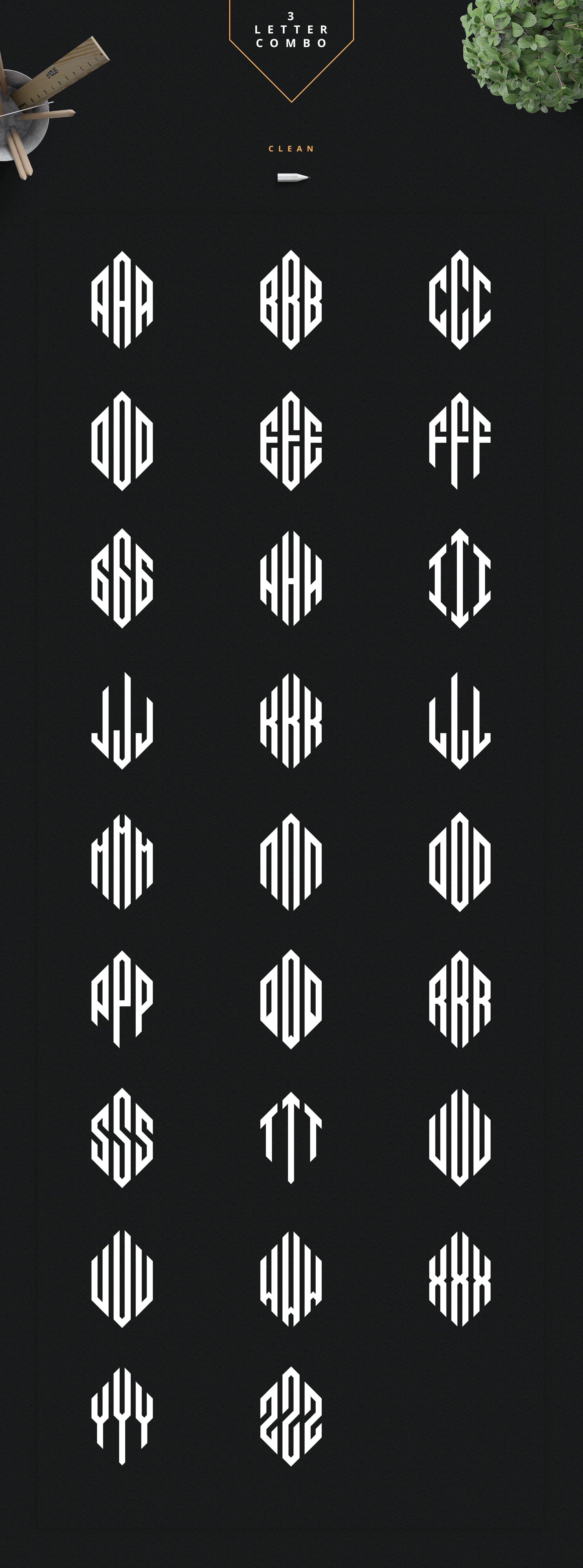 Ultimate Monogram Creator