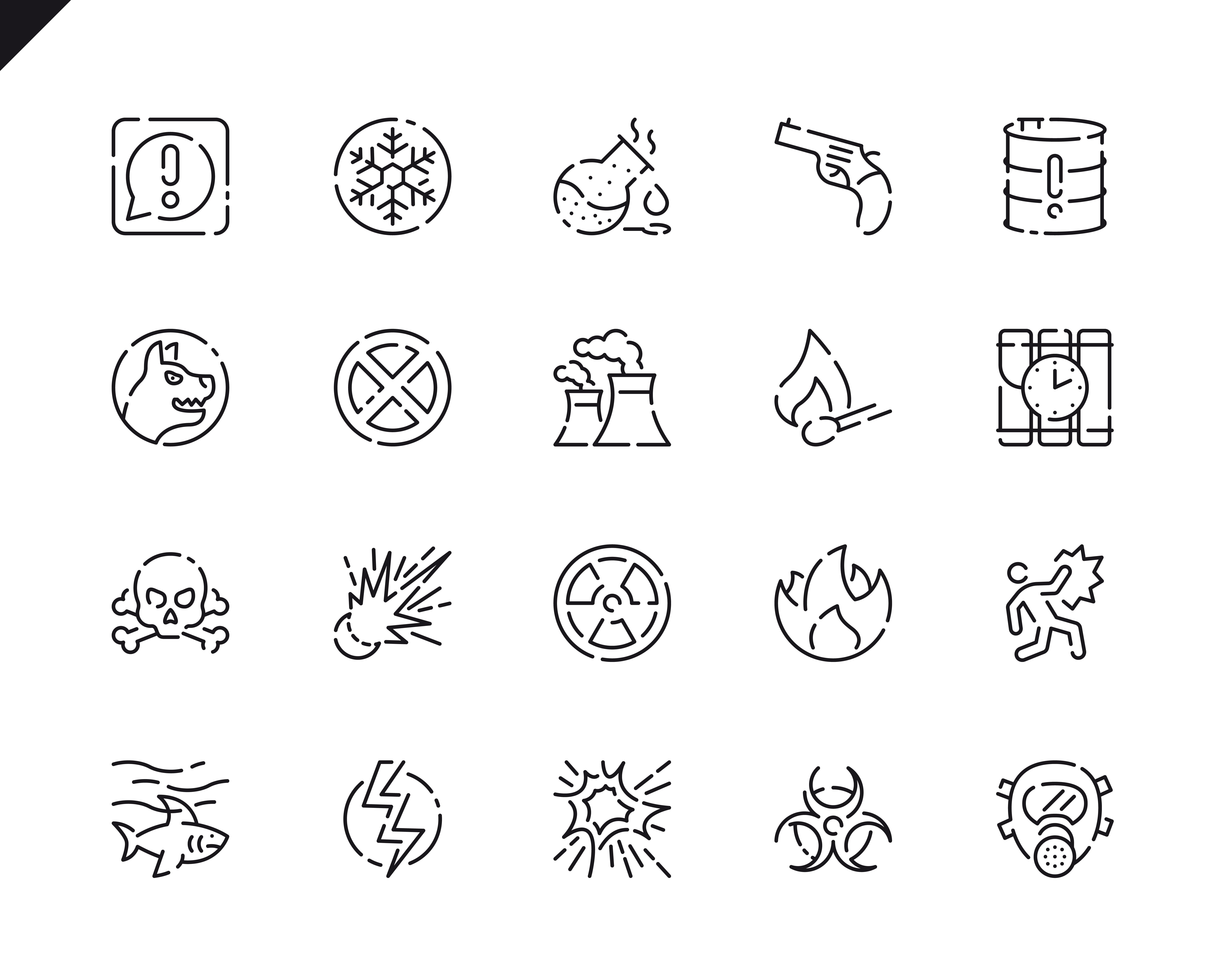 500 Business Line Icons - $22 ONLY - 8 4