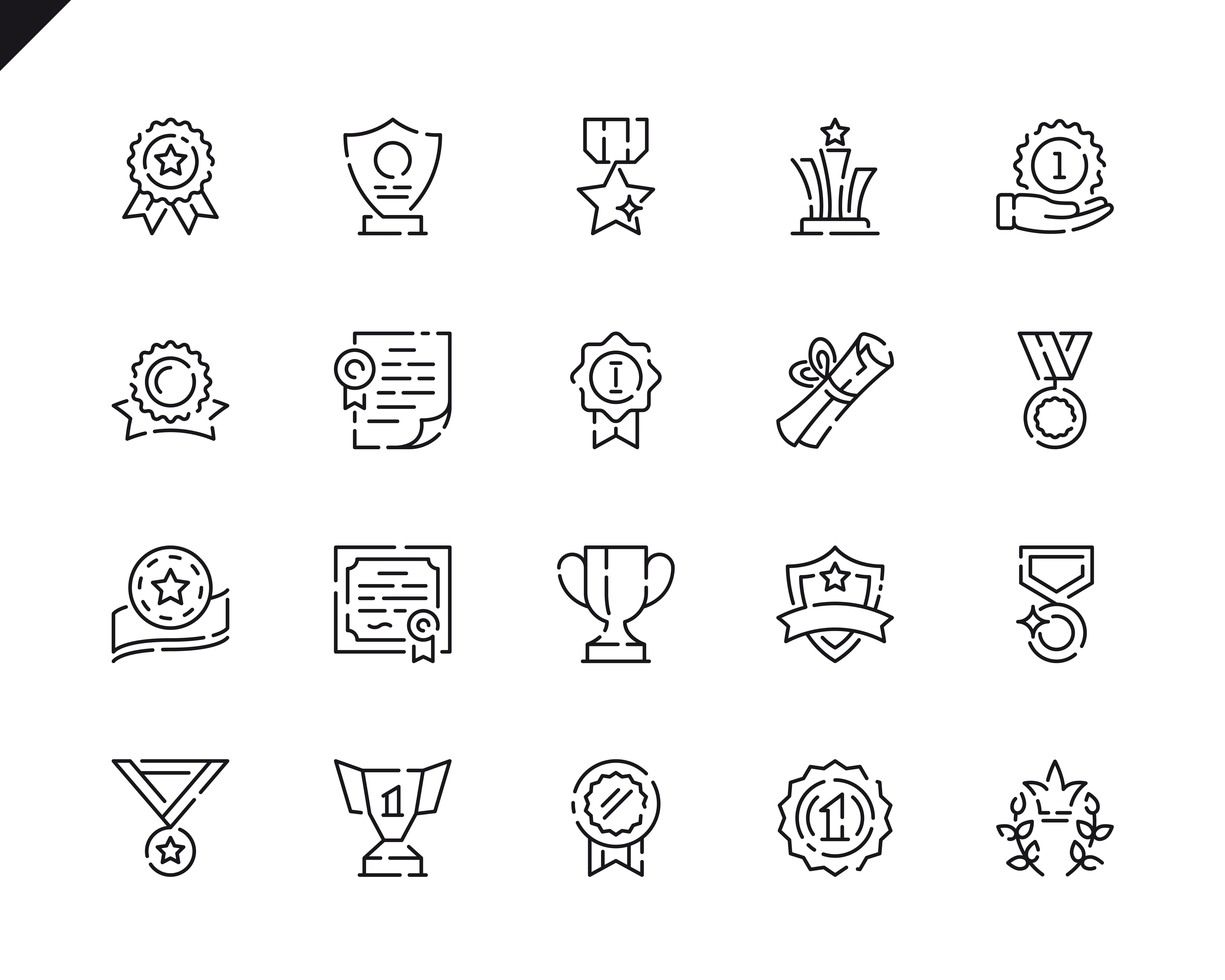 500 Business Line Icons - $22 ONLY - 9 4