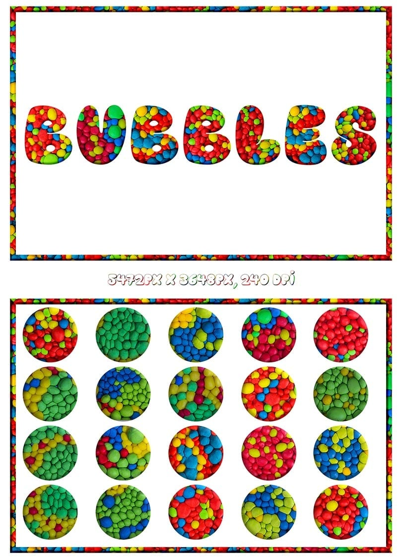 Digital Art Collection - $29 ONLY - Bubbles