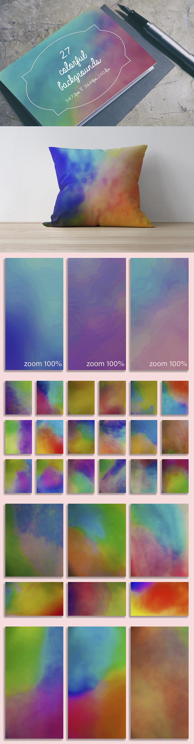 Digital Art Collection - $29 ONLY - Colorful Overlays