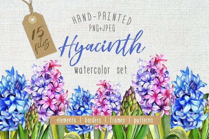 The Best Watercolor Bundle: 50 products, 2600 files - $19 ONLY - MYSTOCKS 3013 min