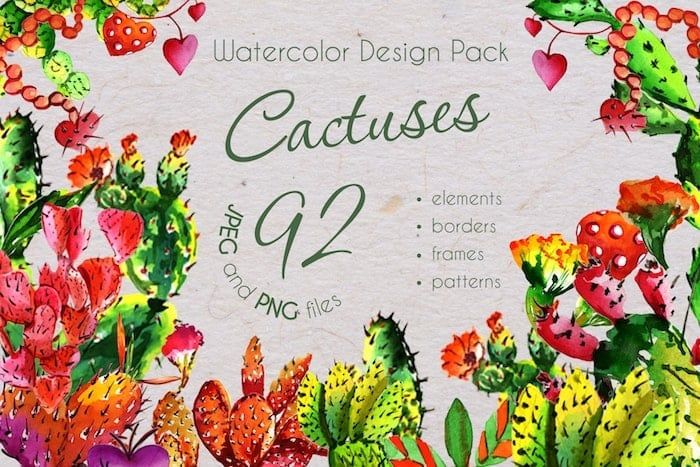 The Best Watercolor Bundle: 50 products, 2600 files - $19 ONLY - MYSTOCKS 3016 min