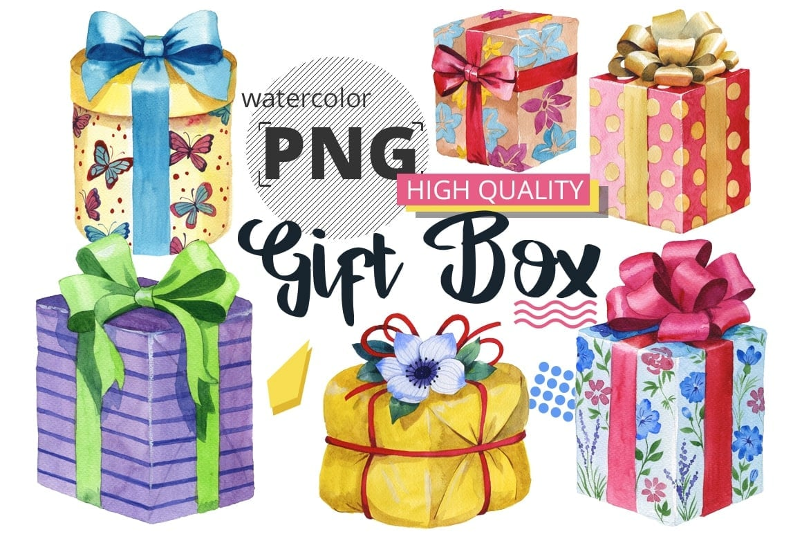 The Best Watercolor Bundle: 50 products, 2600 files - $19 ONLY - MYSTOCKS 671 min 1