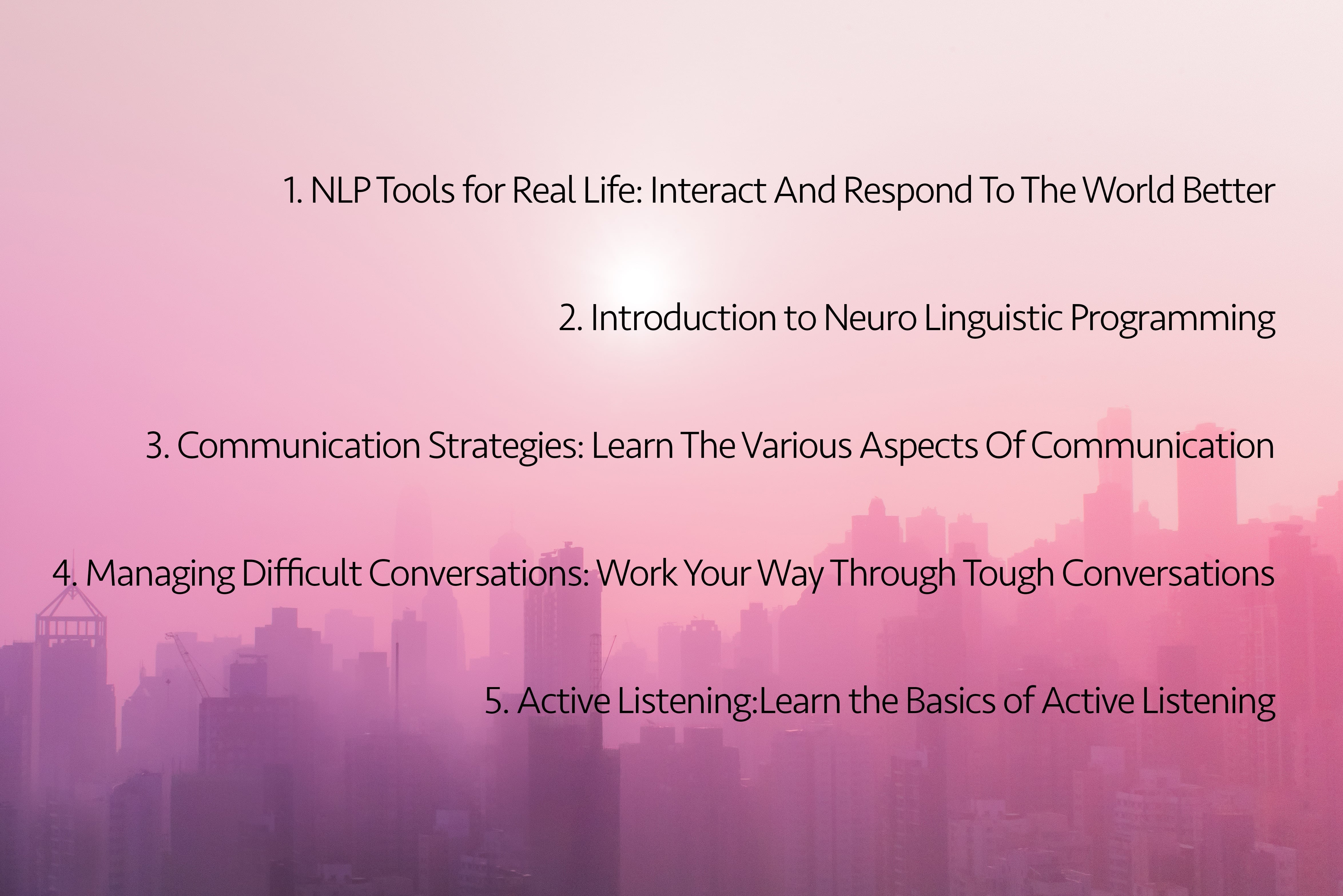 NLP Tools and Communication Strategies Training Bundle - $29 - meiying ng 581604 unsplash