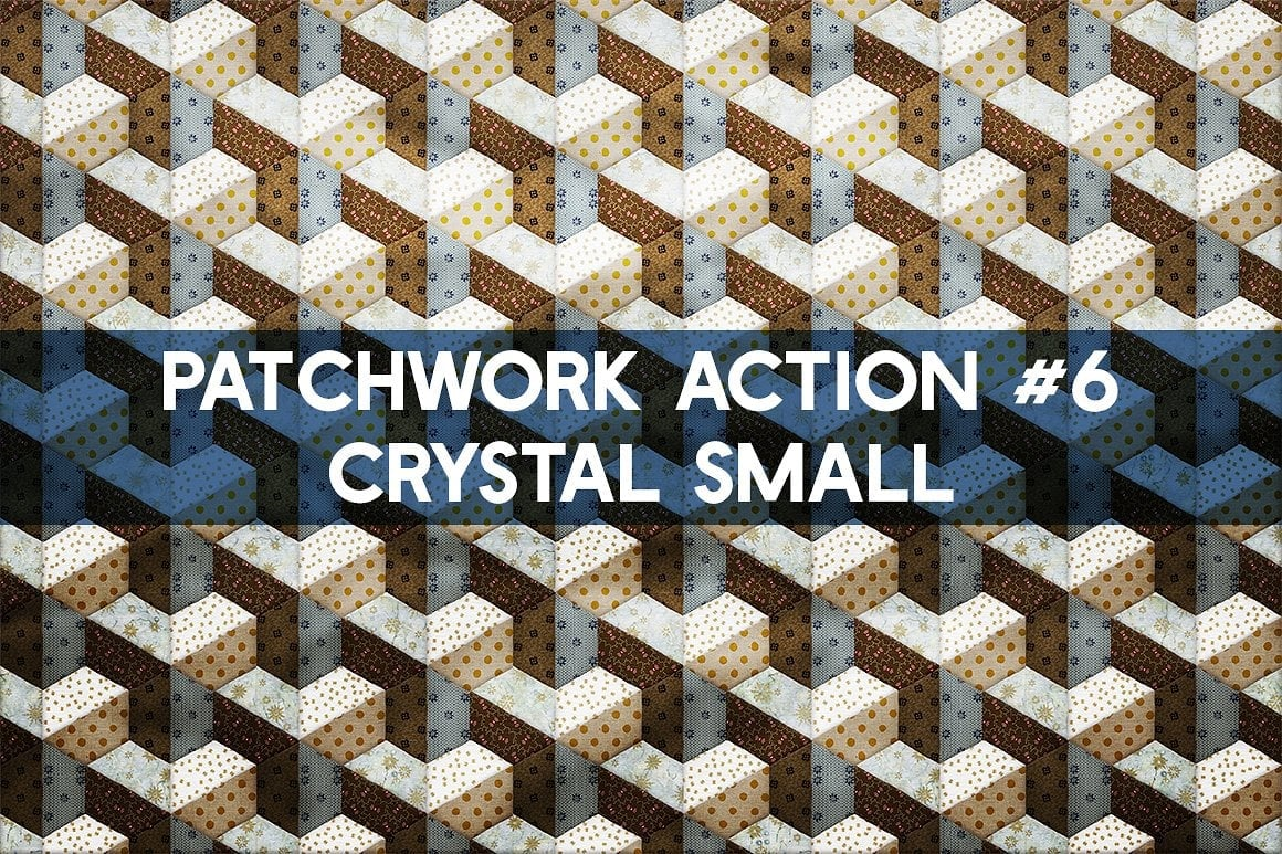 Photoshop TOOLKIT: PATCHWORK Effect - $19 ONLY - patchwork effect photoshop toolkit view10
