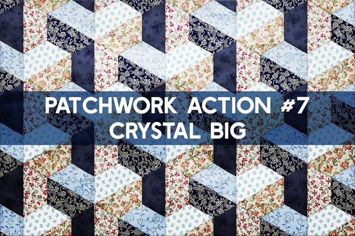 Photoshop TOOLKIT: PATCHWORK Effect - $19 ONLY - patchwork effect photoshop toolkit view11