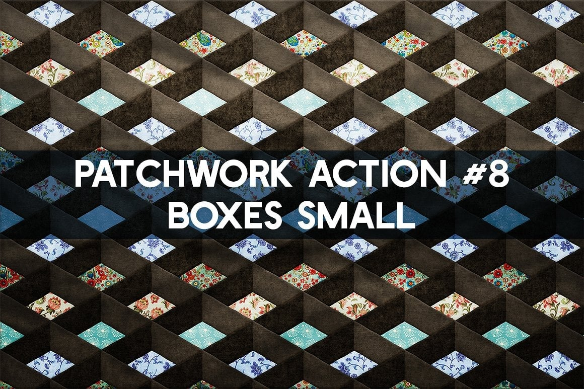 Photoshop TOOLKIT: PATCHWORK Effect - $19 ONLY - patchwork effect photoshop toolkit view12