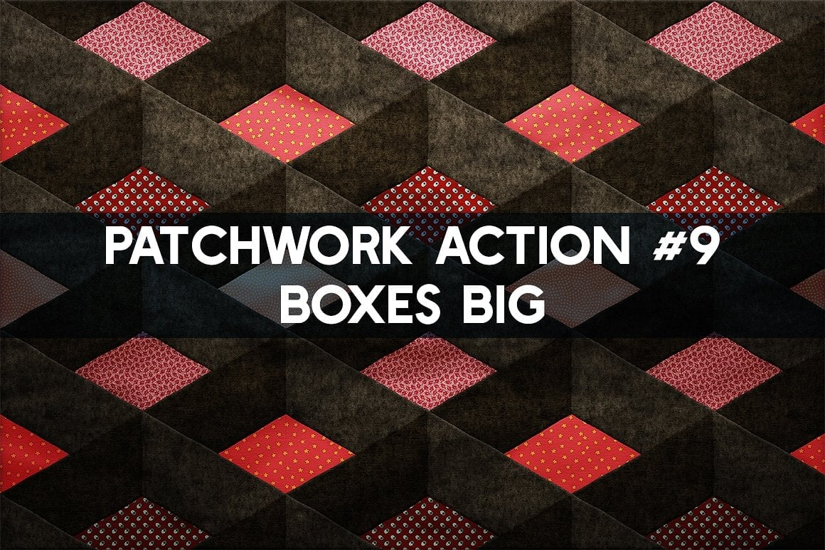 Photoshop TOOLKIT: PATCHWORK Effect - $19 ONLY - patchwork effect photoshop toolkit view13