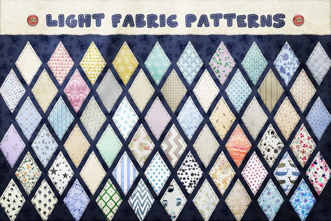 Photoshop TOOLKIT: PATCHWORK Effect - $19 ONLY - patchwork effect photoshop toolkit view4