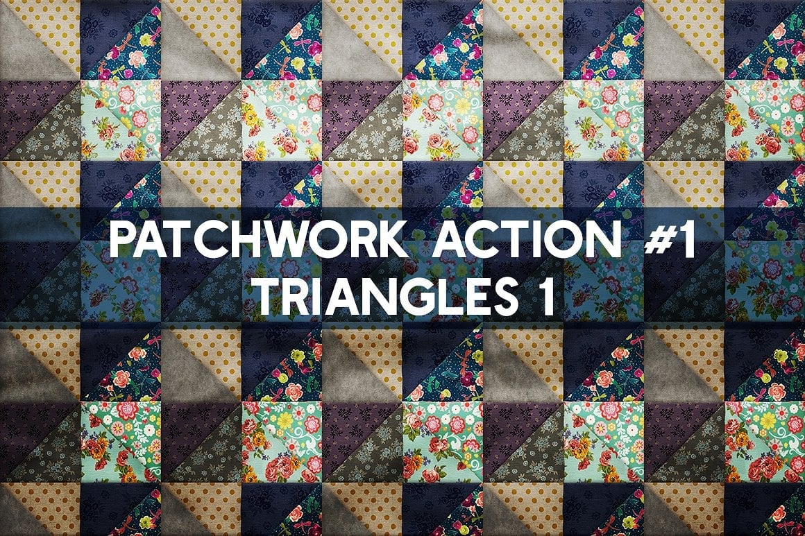 Photoshop TOOLKIT: PATCHWORK Effect - $19 ONLY - patchwork effect photoshop toolkit view6