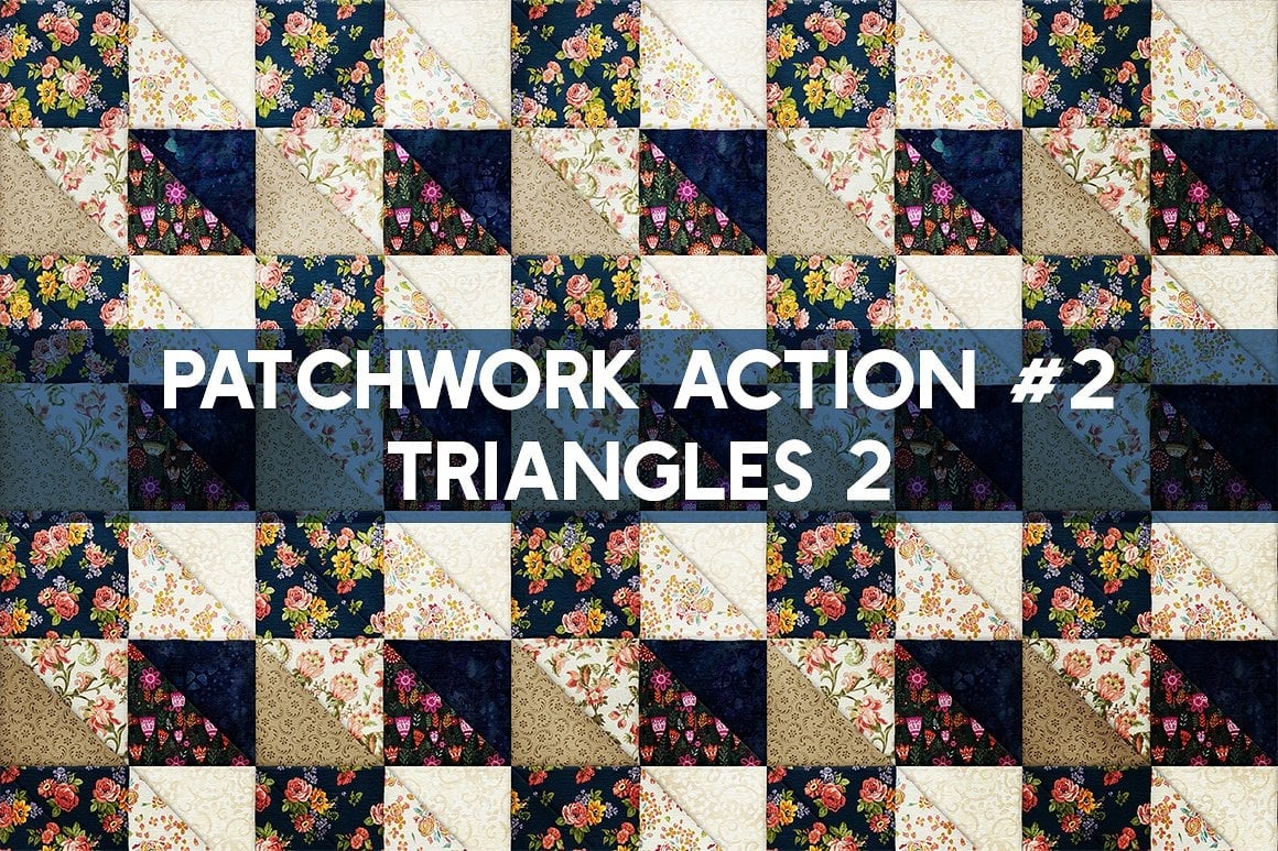 Photoshop TOOLKIT: PATCHWORK Effect - $19 ONLY - patchwork effect photoshop toolkit view7