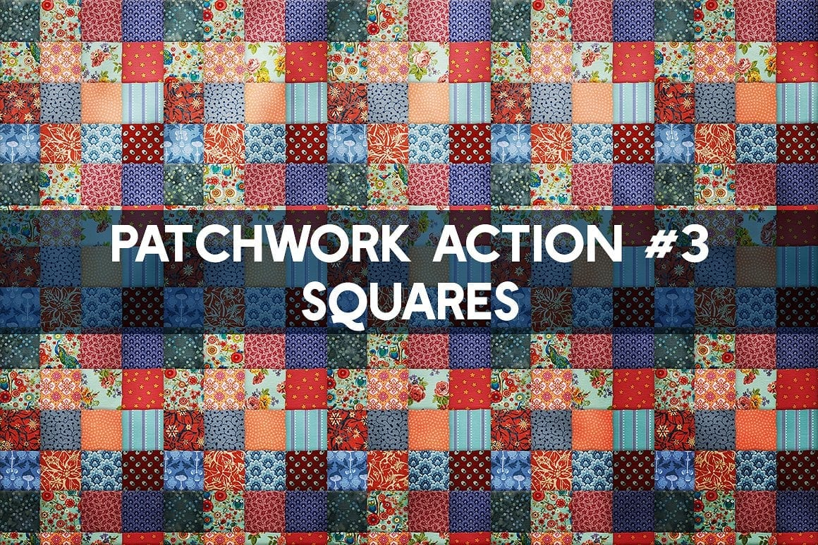 Photoshop TOOLKIT: PATCHWORK Effect - $19 ONLY - patchwork effect photoshop toolkit view7 1
