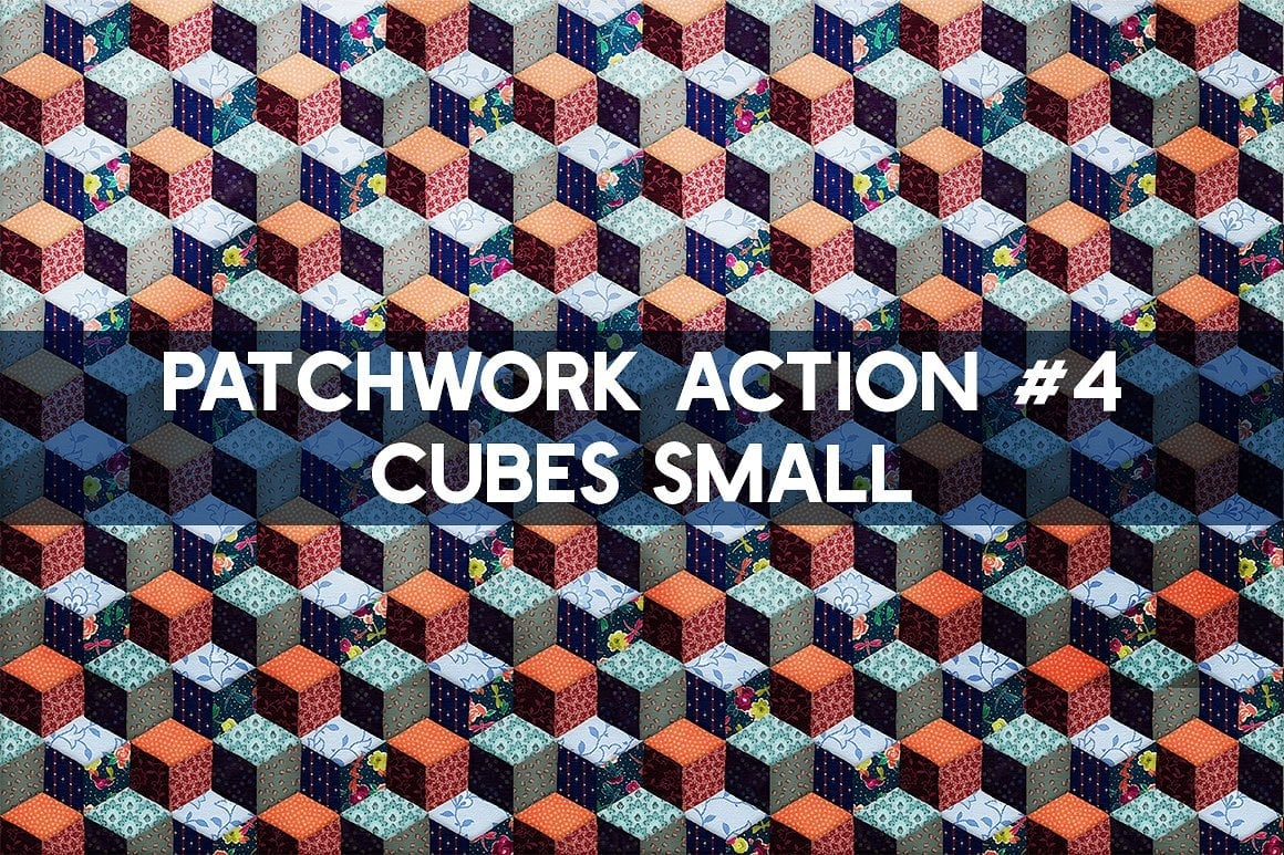 Photoshop TOOLKIT: PATCHWORK Effect - $19 ONLY - patchwork effect photoshop toolkit view8