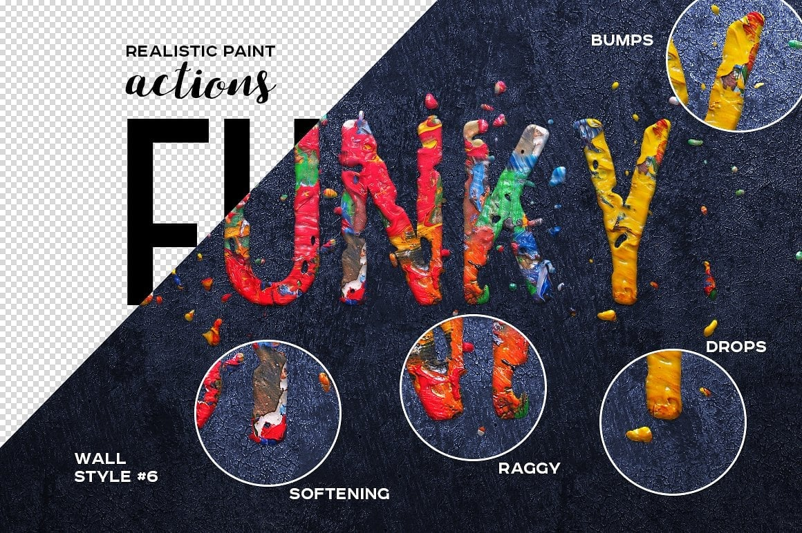 FUNKY PAINTER Photoshop Creative Kit - just $19 - view12