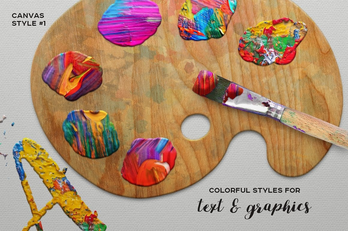 FUNKY PAINTER Photoshop Creative Kit - just $19 - view2 1 1