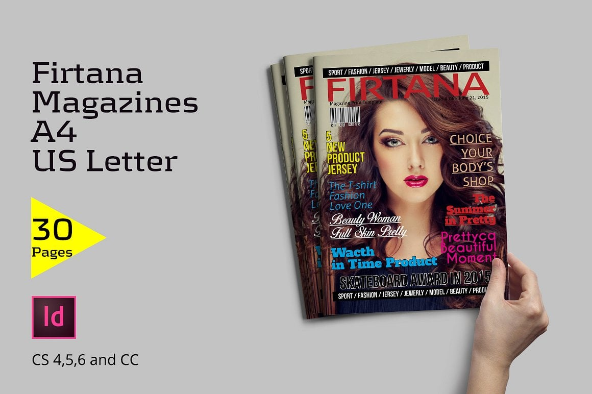 Firtana Magazines A4/US Letter - just $5 - 1 1 1