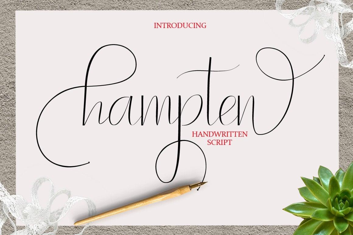 16 Handwritten Fonts - $15 ONLY - 1 min 2