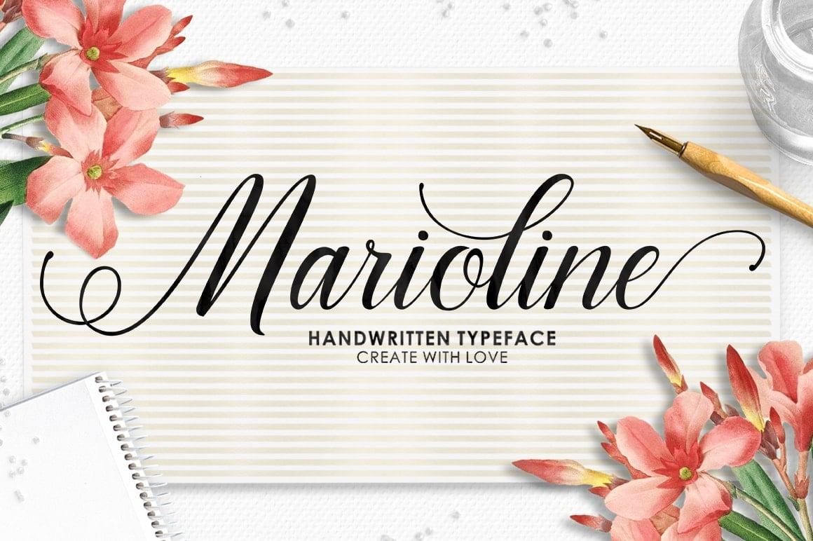 16 Handwritten Fonts - $15 ONLY - 1 min 3