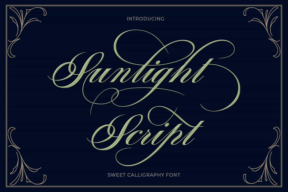 Hand Lettered Bundle: 9 Perfect Fonts - $12 ONLY - 1 min 9
