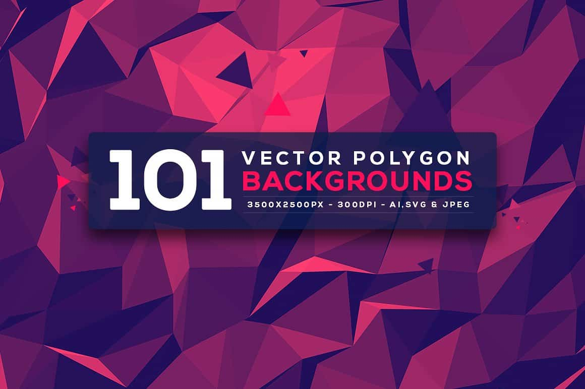 296 Vector Geometric Backgrounds - just $15 - 1 min