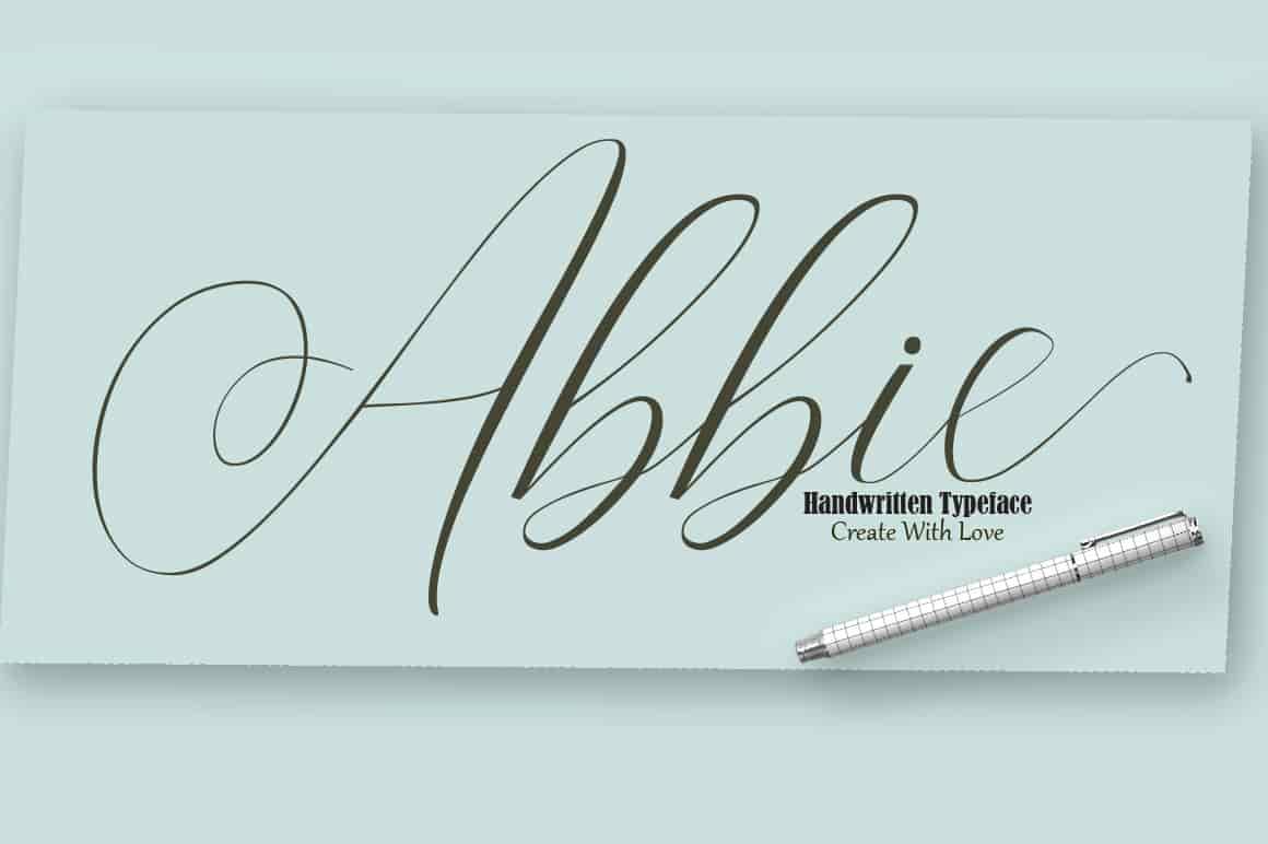 16 Handwritten Fonts - $15 ONLY - 1 min