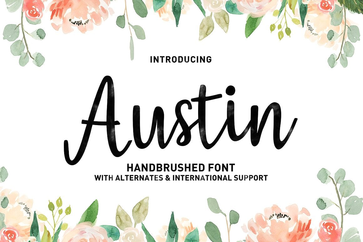 Hand Lettered Bundle: 9 Perfect Fonts - $12 ONLY - 10