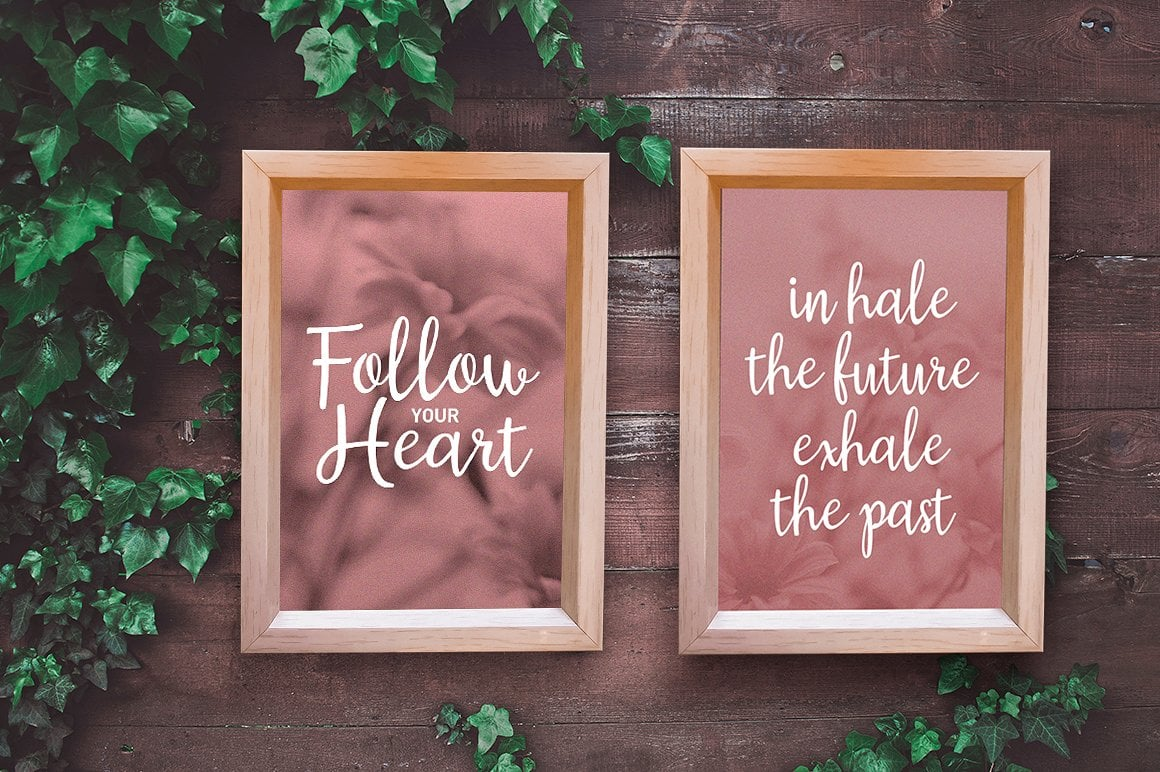 Hand Lettered Bundle: 9 Perfect Fonts - $12 ONLY - 3