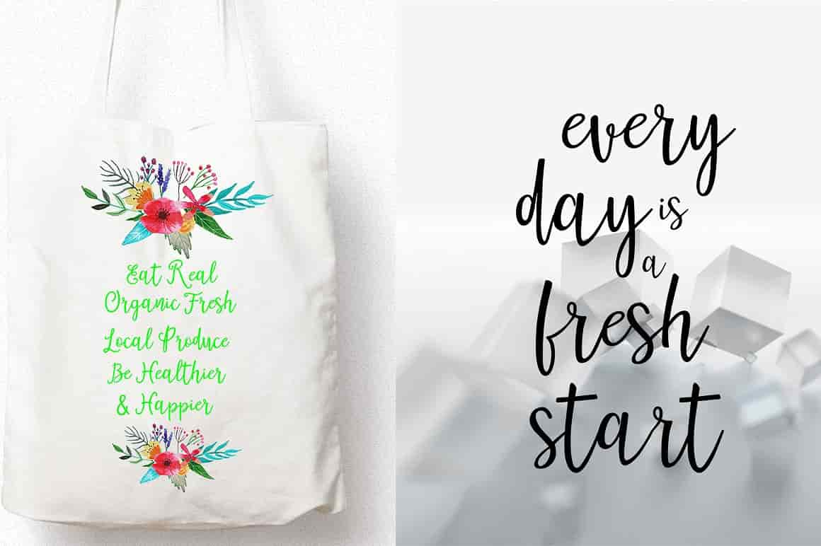 Hand Lettered Bundle: 9 Perfect Fonts - $12 ONLY - 3 min 7