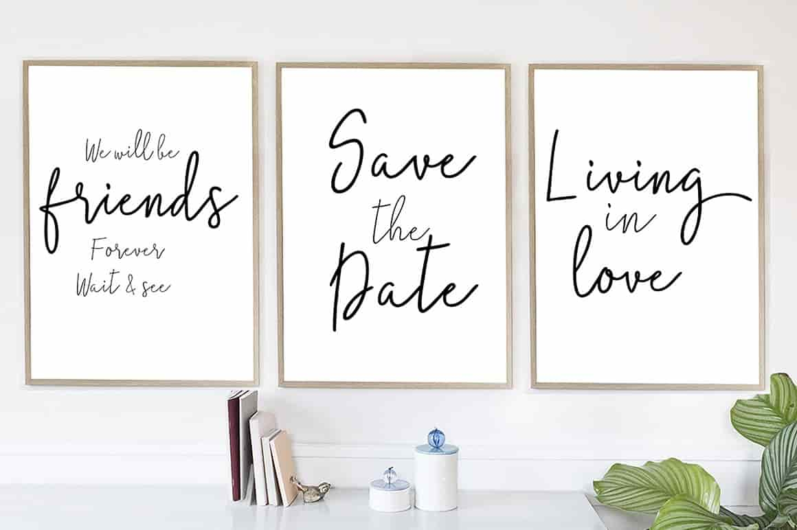 Hand Lettered Bundle: 9 Perfect Fonts - $12 ONLY - 3 min 9